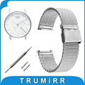 18mm Milanese Watch Band Quick Release for Withings Activite / Steel / Pop Mesh Stainless Steel Strap Wrist Belt Bracelet + Tool