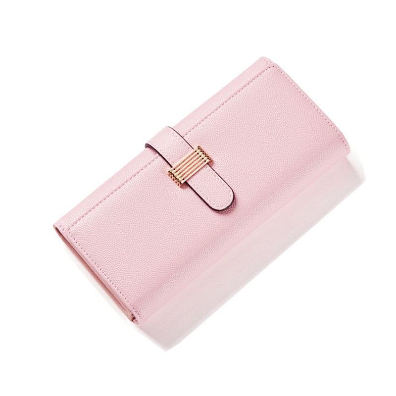 2017 New Fashion Women Wallets Long Wallet Female Card Holder Casual Zip Ladies Clutch PU Leather