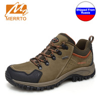 Ship From RU MERRTO Male Hiking Light Weight Shoe Breathable Sport Mountain Hunting Athletic Outdoor Waterproof