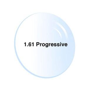 Image 5 - 1.61 Digital di Trasporto Forma Progressiva No Linea Multi Focale Da Vista Su Misura Ottica Lenti Con Rivestimento Anti Riflesso 2 Pcs