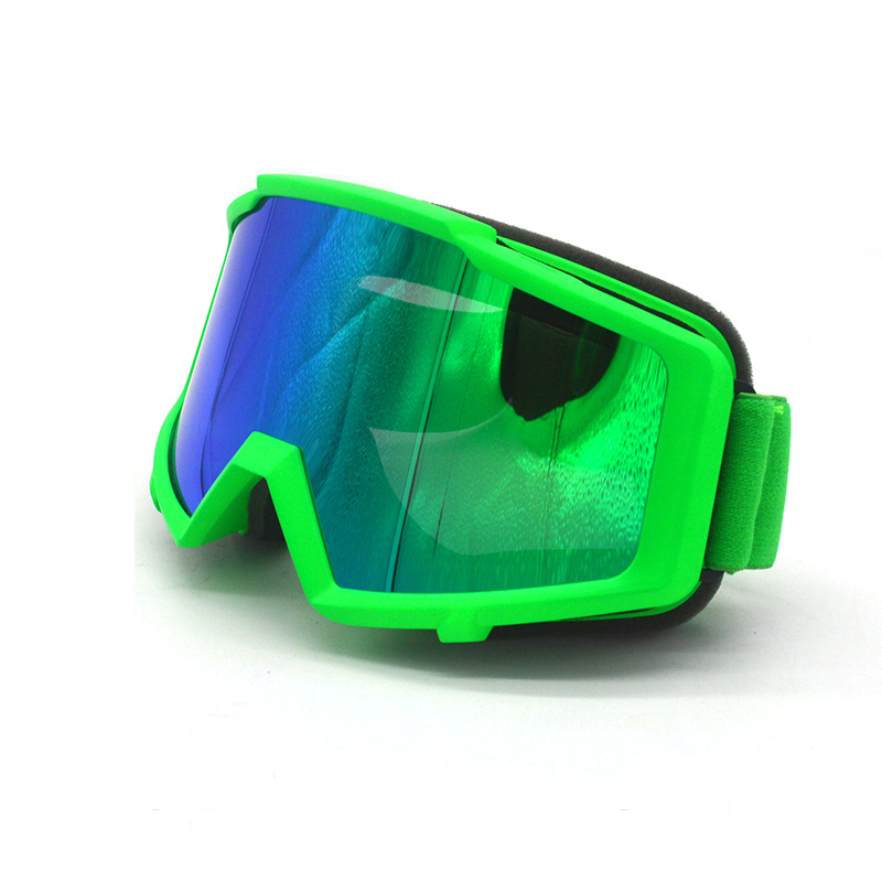 Motocross Goggles Colorful Vintage UV Protection Off Road CE Glasses For Motorcycle Dirt Bike Masque Moto Goggles sunglasses