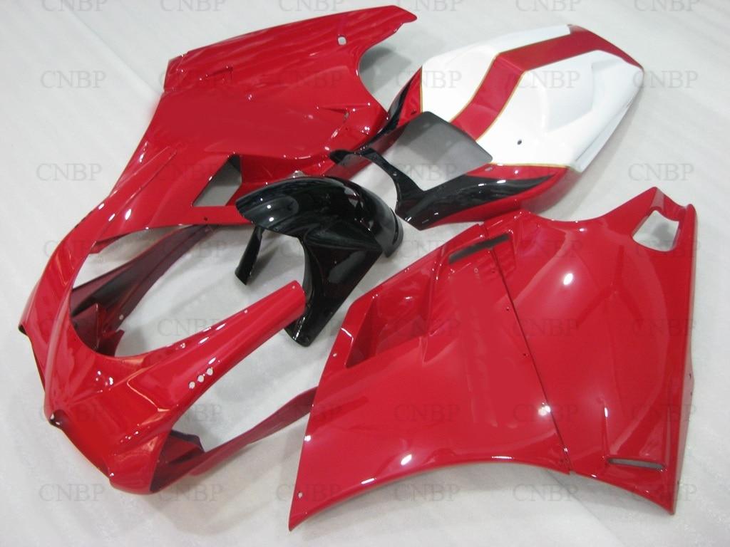 Bodywork for DUCATI 996 1999 Fairing Kits 998 1999 1996 2002 Red White Black Fairings 748 1997