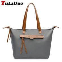 Brand Famous Designer Handbags High Quality Nylon Waterproof Shoulder Bag Women Tote Bag Big Casual Large bolsos mujer bandolera