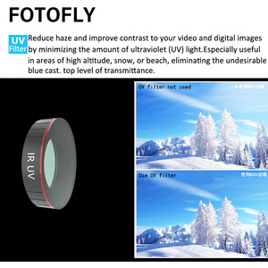 Image 5 - For DJI Osmo Action Camera Lens Filter UV/CPL Polarizing/ND 4 8 16 32 64 1000 Filters Set For Osmo Action Lenses Accessories