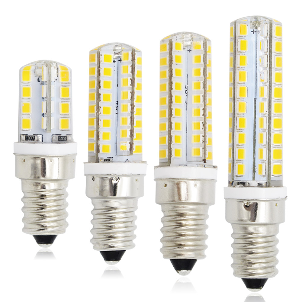 E14 Refrigerator Light Corn Dimmable Smd 2835 Led 220v