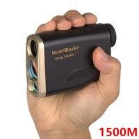 Laser Rangefinder 1500M Digital 1500 M Distance Meter Monocular Telescope Trena Hunting Golf Laser Range Finder