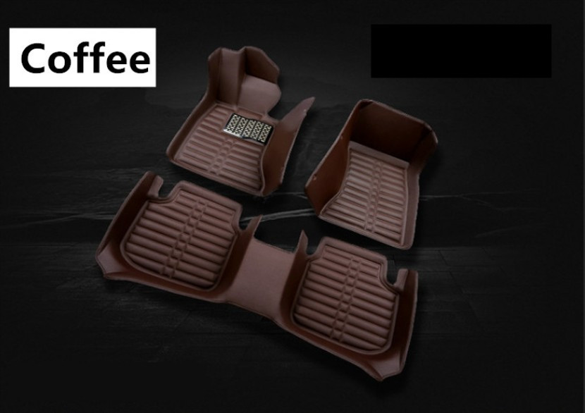 Auto Floor Mats For Hyundai Solaris 2017.2018 Foot Carpets Step Mat High Quality New Water Proof Clean Solid Color Mats 3d trunk mat for peugeot 508 waterproof car protector carpet auto floor mats keep clean interior accessories