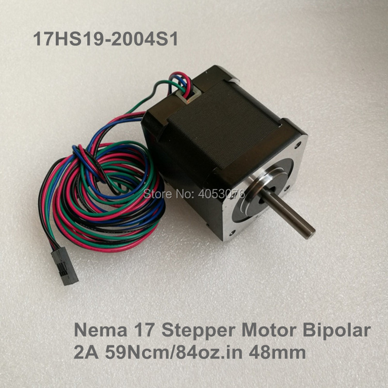 5 pcs 4-Lead Nema 17 Stepper Motor 2A (17HS19-2004S1) for DIY 3D Printer motor CNC Robot5 pcs 4-Lead Nema 17 Stepper Motor 2A (17HS19-2004S1) for DIY 3D Printer motor CNC Robot