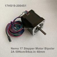 5 pcs 4 Lead Nema 17 Stepper Motor 2A (17HS19 2004S1) for DIY 3D Printer motor CNC Robot