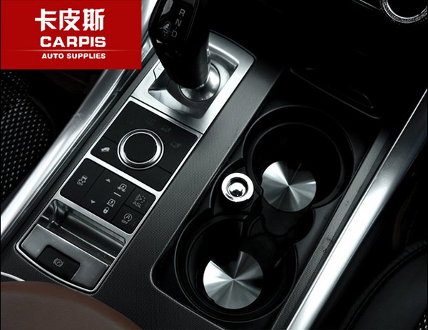 Aliexpress.com : Buy Chrome Car Central Console Cup Holder Pad Car Water  Coaster For Range Rover Vogue Range Rover Sport Range Rover Evoque Styling  From ...