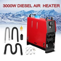 12v 3000w Air Diesel Heater 4 Holes Monitor Planar For Trucks Boats Bus Rotary Switches Low Fuel Consumption