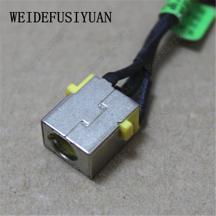 Computer Cables DC Power Jack Plug in Charging Port Connector Socket Cable Harness for Acer Aspire 7741 7741Z 7741ZG 7752G 7551 7551G 7752 7752G Cable Length: 6CM