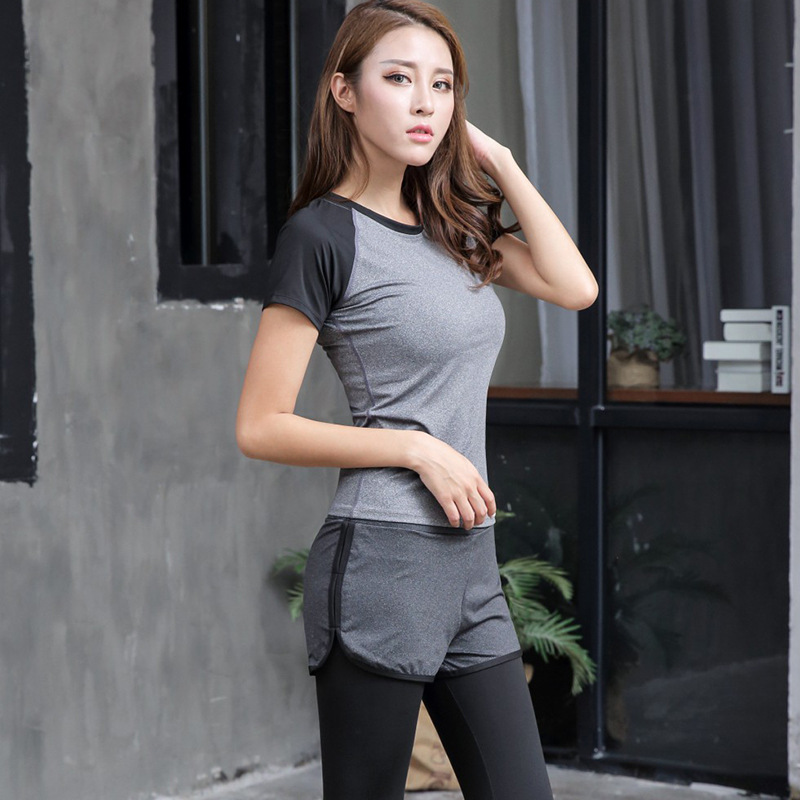 5d6b0a2523935 Ropa Deportiva Mujer Gym Sports Bra South Korea Running Short Sleeve Shirt  Sport T shirt On Sale Quick Dry Workout Clothes -in Yoga Shirts from Sports  ...