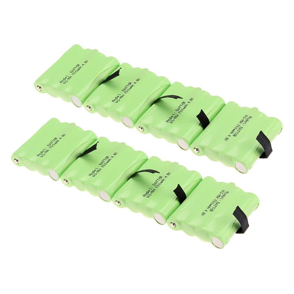 Nouveauté! 8 pièces 4.8 V 700 MAH NI-MH batterie Radio Rechargeable 2 voies pour Midland BATT6R BATT-6R