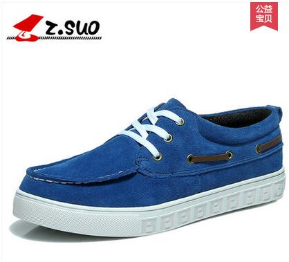 Zsuo spring autumn the trend of casual shoes male casual cotton facbric brethable shoes ZS163