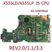 KEFU X555LD For ASUS X555LD R557L font b laptop b font motherboard rev2 0 1 1
