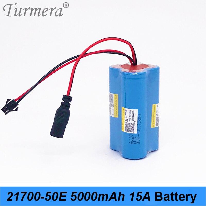 Nouveau 3 s batterie 5000 mah inr21700-50e 10.8 v 12.6 v batterie pour tournevis outils batterie phare batterie personnalisée MA10