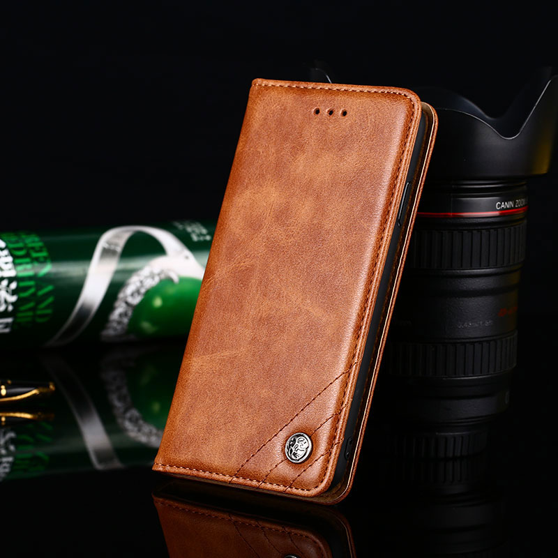 Case for Xaiomi <font><b>Mi</b></font> 5 5X A1 6X A2 Lite 6 8 lite 9 SE Play 9T Pro <font><b>Mix</b></font> 2 <font><b>2S</b></font> 3 F1 coque Flip cover Leather case <font><b>funda</b></font> Without magnet image