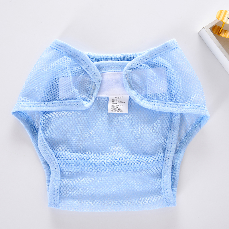 Baby Newborn Infant Cotton Diapers Washable Diapering Cloth Reusable Nappy Acc
