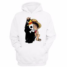 Jepang One Piece Hoodie One Piece Monkey D. Luffy Hoodie Anime One Piece Anime Pakaian Katun Sweatshirt Harajuku Merek Sweatshirs Hip Hop(China)