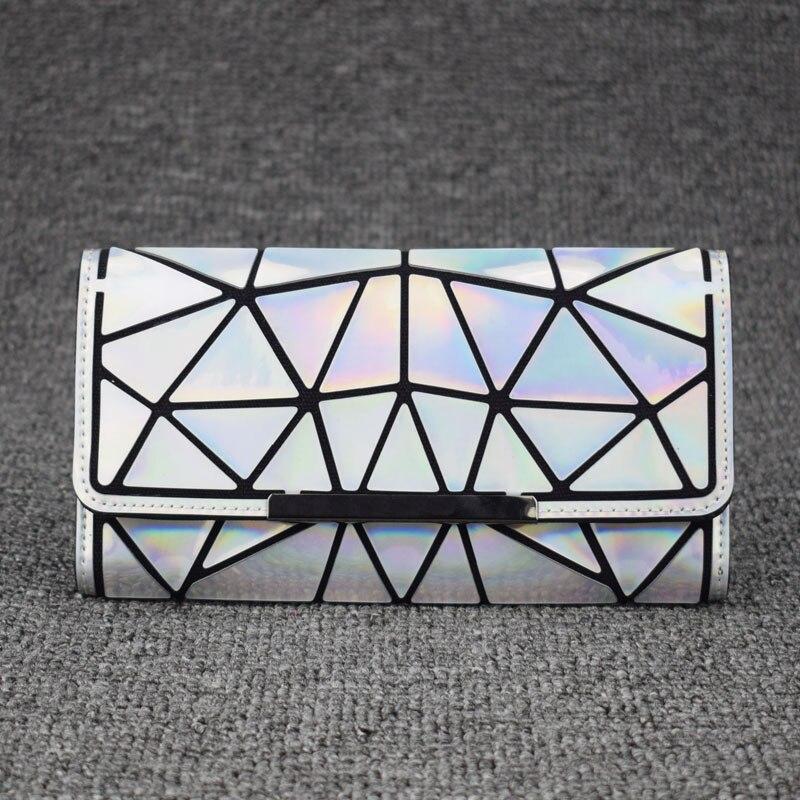 2018 Zipper Wallet Womens Long Clutch Geometric Standard Wal