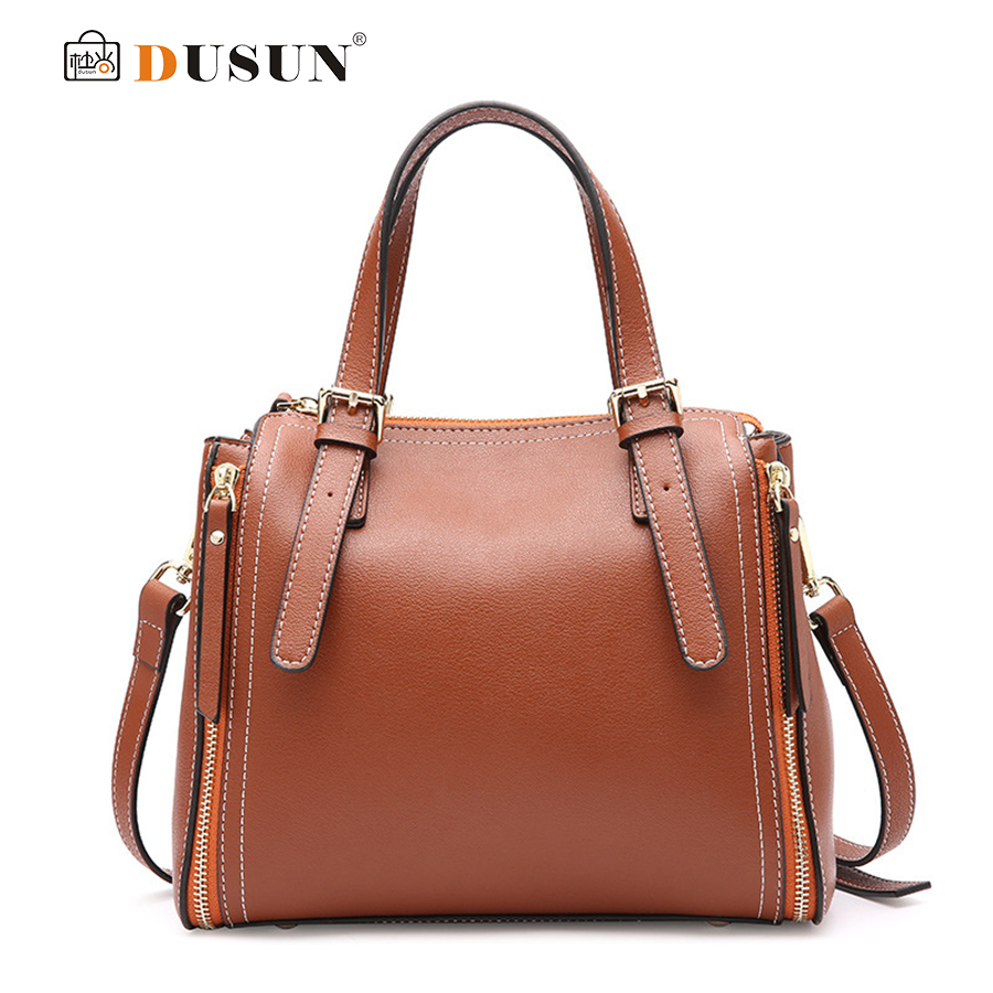 DUSUN Lychee Grain Leather Handbag Women Stylish Simplicity Brand Ladies Shoulder Bag Retro Messenger Bags Female Bolsa Feminina vogue star women bag for women messenger bags bolsa feminina women s pouch brand handbag ladies high quality girl s bag yb40 422