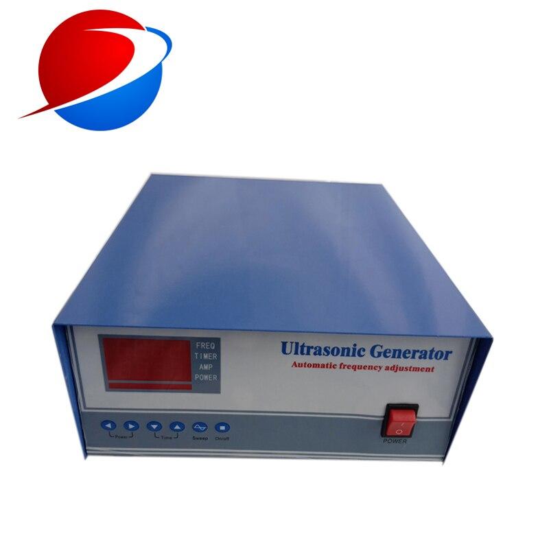 2000W Ultrasonic Sweep Frequency Generator For Sweep Frequency Cleaning Machine 20KHz/25KHz/30KHz/28KHz/40KHz