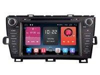 TOYOTA PRIUS 2009-2013 IÇIN Android 6.0 ARABA DVD araba ses gps çalar stereo kafa birimi Multimedya build 4G modülü
