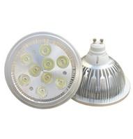 Ar111 светодиодные лампы 9 w AC100-240V 950lm ar111 g53 gu10 e27 светодиодный потолочный светильник ar111 Светодиодный прожектор Бесплатная доставка