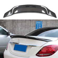 Mercedes W213 Carbon fiber sppoiler Replacement New style spoiler Trunk Tail wing for E Class