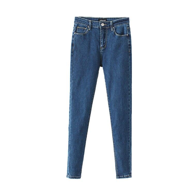 ФОТО In the spring of 2017 new women's fashion all-match waist elastic thin slim pants pants nine female