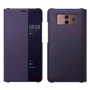 Image 3 - กระเป๋าสตางค์ฝาครอบหนังสำหรับ Huawei Mate 10 Pro Huawei Mate10 Mate10pro 10pro 360 ป้องกันสมาร์ทดู