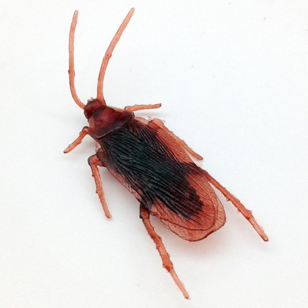 New Arrival 10*pcs Prank Funny Trick Joke Special Lifelike Model Fake Cockroach Roach Toy Amusing Prank Fantastic Interesting