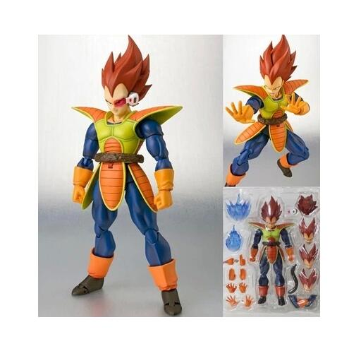 15cm Dragon Ball Z Vegeta SHF Figuarts Action Figures Collectible Toy Anime Model Kids Doll PVC shfiguarts anime dragon ball z son gokou movable pvc action figures collectible model toys doll 18cm dbaf094
