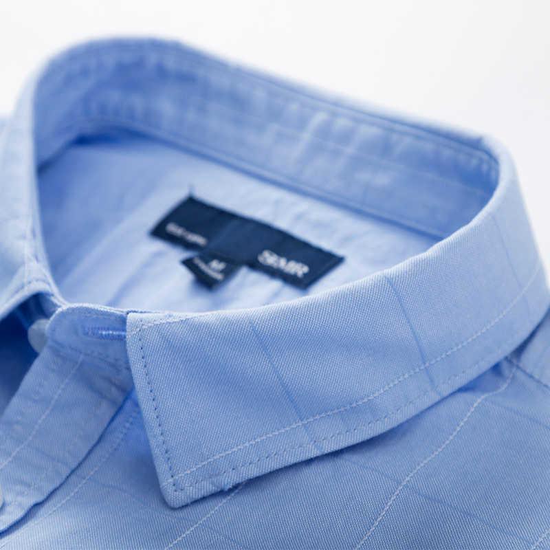 をセミール 2019 ファッション男性シャツスリムフィット男性のカジュアルシャツ半袖ターンダウン襟正式なシャツ男性服 2019 カミーサ