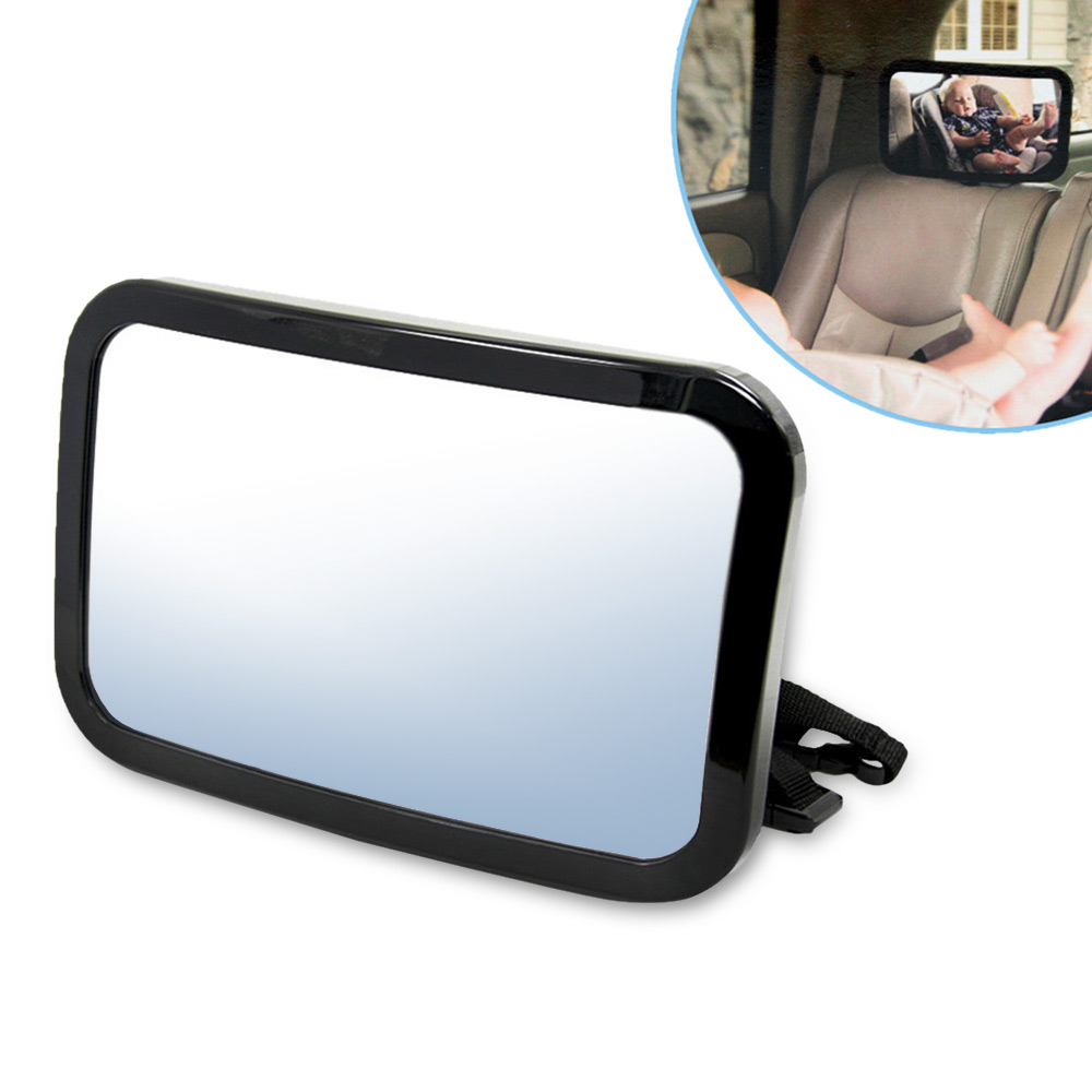 TIROL Rotatable Car Back Seat Safety Mirror Baby Rear Facing Seat Rearview Mirror Infant Baby Kids Monitor Interior Accessories