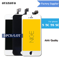 OVSNOVO AAA Quality No Dead Pixel Pantalla For IPhone 5 5s 5c Se LCD Display Screen
