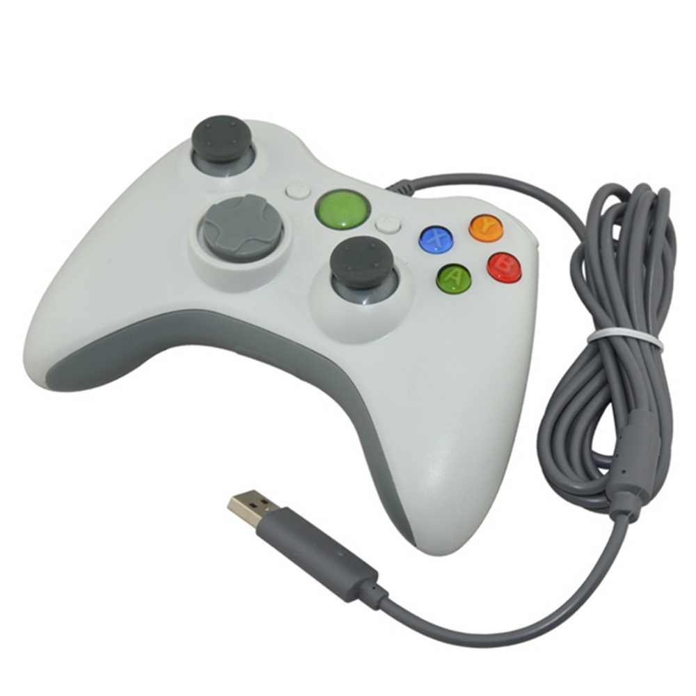 PC via cavo 360 USB Gamepad Controller di Gioco per PC Joystick NON È compatibile per xbox 360 PC SOLO