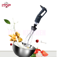 ITOP 350W/500W New Immersion blender Egg Beater Commercial Handheld Blender 250mm Whisk Electric variable speed Food Mixer