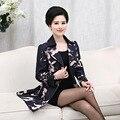 Clothing madre de mediana edad las mujeres de mediana edad en más tamaño chaqueta de abrigo yardas grandes flojas pa015