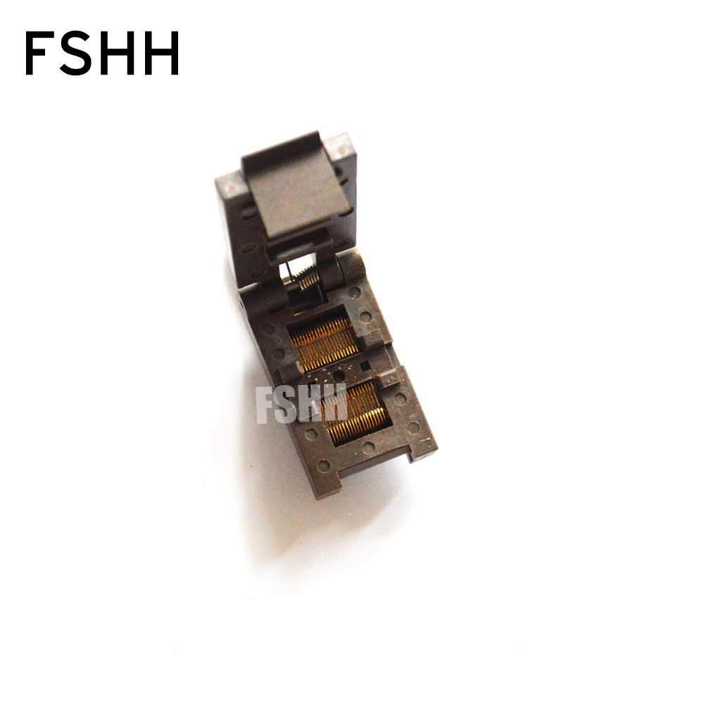 FP-40-0.5 test socke Clamshell SSOP40 socket IC socket Pitch=0.5mm width=4mm/8mm наушники harman kardon sohobt черный