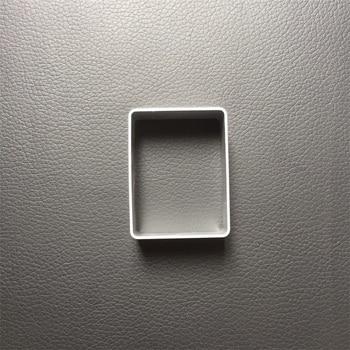 Envío Gratis, molde cortador de galletas de forma rectangular de aleación de...