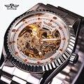 free shipping Winner Watch Women Fashion Mechanical Ladies Dress Wristwatch Red Diamond Design luxury women watch famous brand