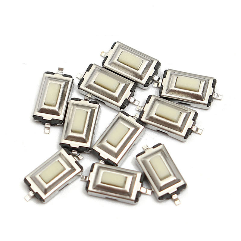 50pcs/lot Tact Tactile Push Button Micro Switch SMD Momentary SMT 2 pin 3*6*2.5MM 3x6x2.5MM Free shipping 50pcs lot smt 3x4x2 5mm 4pin tactile tact push button micro switch g75 self reset car remote control switch free shipping