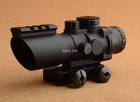 Optical prism 4x32 Rifle scope with picatinny weaver rail base M7948