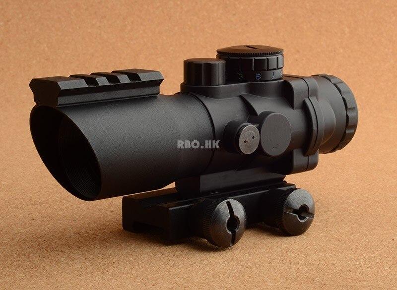 Prisme optique 4x32 portée de fusil avec base de rail de tisserand picatinny M7948