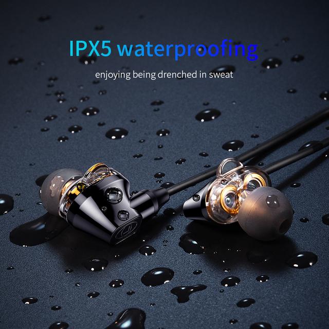 Baseus S10 IPX5 Waterproof Bluetooth Wireless Sports Earphones With Mic