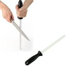 Fantastische Keramik Messer Schärfen Stange Messerschärfer 6 zoll mit ABS Griff Schärfen Für Chefs Messer Küche Honwerkzeuge
