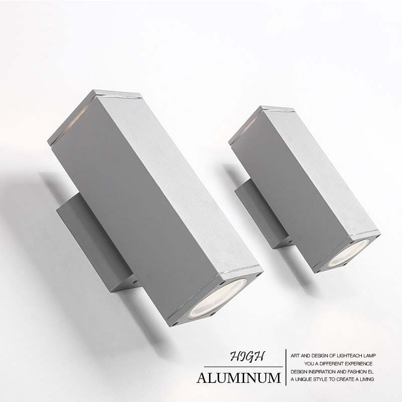 Indoor/Outdoor High quality led sconce wall lights lamp Modern led wall lamp aluminum for home bedroom hallway 220V Black/Gray black wall lights bedside lamp high quality sconces lamp indoor lighting wall lamps industrial sconce modern de la pared lampada