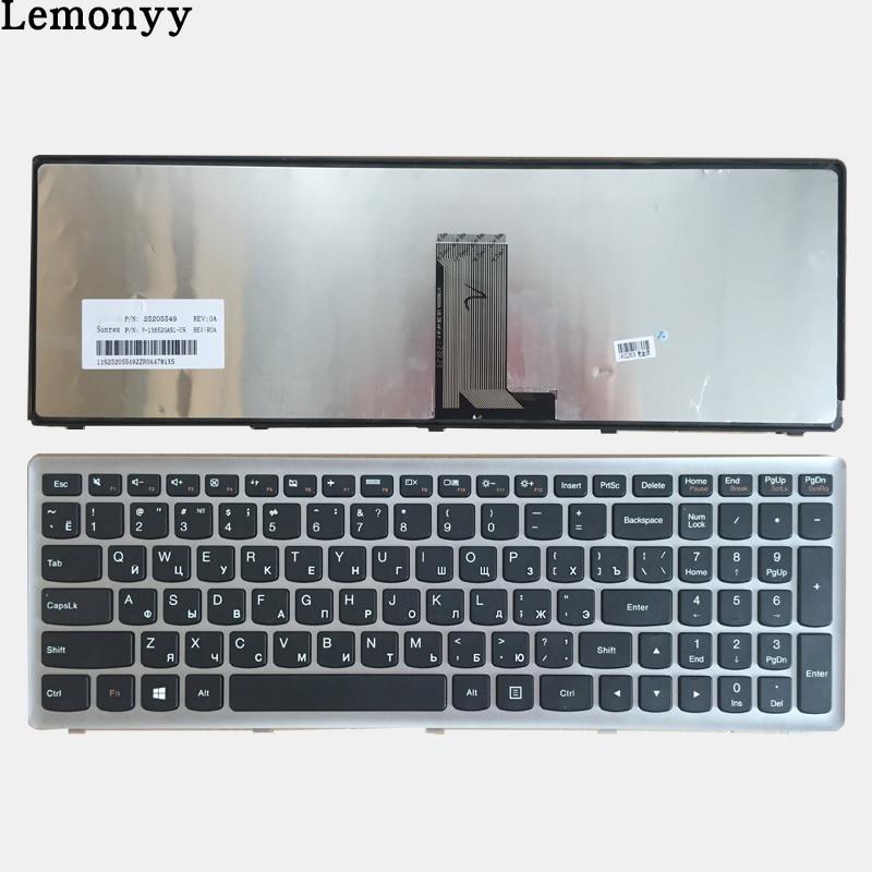 New RU Keyboard For Lenovo U510 U510-IFI Z710 NSK-BF1SU 0KN0-B62RU13 9Z.N8RSU.10R V-136520MS1 Russian Laptop Keyboard